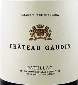 2016 Château Gaudin