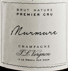 Champagner Murmure 1er Cru brut nature Blanc de Blancs, Vergnon