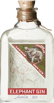 Elephant London dry Gin 0,5 l Flasche