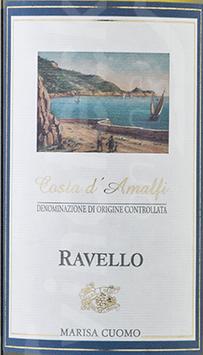 2020 Ravello Costa di Amalfi bianco DOC, Cuomo