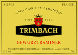 2017 Gewürztraminer AOC, Trimbach