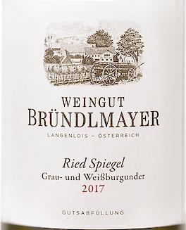 2017 Grau-und Weißburgunder Spiegel, Bründlmayer