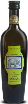 Olio di oliva extra vergine 0,5 l Flasche, Spinetta