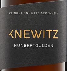 2017 Riesling Hundertgulden QbA trocken, Knewitz