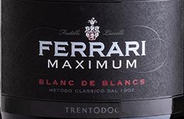 Ferrari Maximum Blanc de Blancs DOC, Ferrari