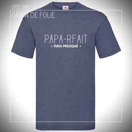 t-shirt papa-rfait
