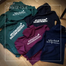 Sweat à capuche Adulte personnalisable
