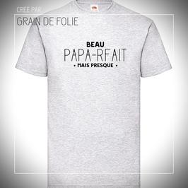 t-shirt beau papa-rfait