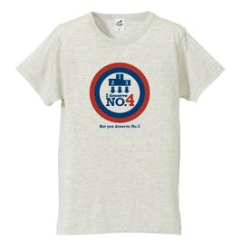 T-シャツ【No4シャツ(オートミール)】