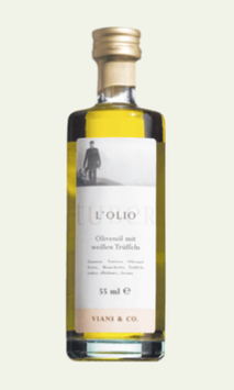 Olio al Tartufo - Trüffelöl mit weißen Trüffeln - 50ml Flasche