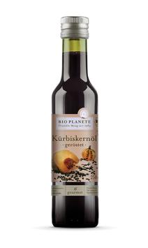 Bio-Kürbiskernöl geröstet, 250ml Flasche
