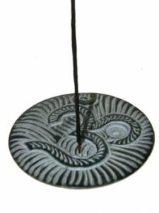 Brûle encens bâtons et cônes en pierre à savon - OHM AUM OM