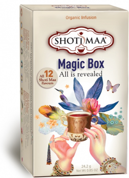 Shoti Maa MAGIC BOX 12 fragrance de thé organique Shoti Maa