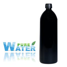 Bouteille gourde violette 1 litre - PURE WATER
