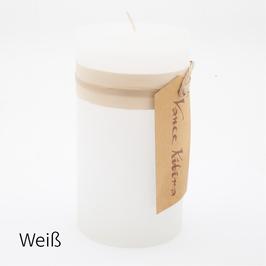 Stumpen Kerze Höhe 15,5 cm