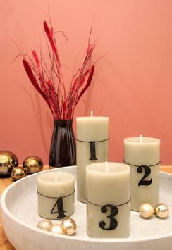 Advent 4er Set