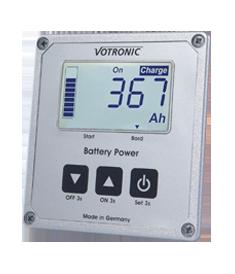 Batteriecomputer 100S | 200S von Votronic  inkl. Messshunt und Masseband