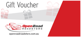 Open Road Roadster Gift Voucher