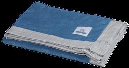 Blanket - Blue fleece / Schoolbook