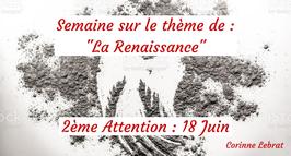 """210618- 2e Attention sur le thème de  """"La Renaissance"""""""