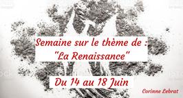 """210614 - Semaine sur le thème de  """"La Renaissance"""""""