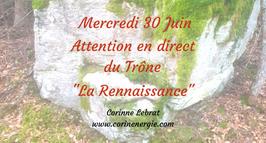 """210630 - Attention """"En Direct du Trône"""" sur le thème de  """"La Renaissance"""""""