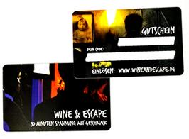 Wertgutschein für Wine & Escape