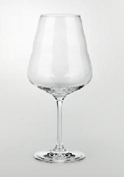 """ND Rotwein Glas """"CALIX"""" mundgeblasen"""