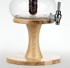 Holzständer ESCHE für Beauty Karaffe