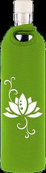 FLASKA - Trinkflasche / NEOPREN Lotus