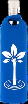 FLASKA - Trinkflasche / NEOPREN Lebensbaum