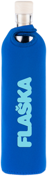 FLASKA - Trinkflasche / AUTHENTIC Blau