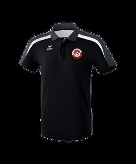 ERIMA Liga 2.0 Polo-Shirt Fb. schwarz/grau/weiß (1111824) (FVE)