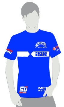 Team Shirt «Saiger Racing», Blau