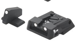 Set di Mira per Beretta APX con punti di riferimento bianchi codice: E01807
