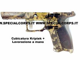 Cover APX Beretta 9x21 imi (Cubicatura Kryptek + Lavorazione a mano)