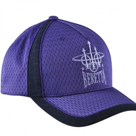 Uniform Cap Cappello Beretta Navy & Purple BT140