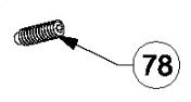 Beretta Vite di regolazione per 92X codice C97196
