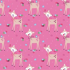 Jersey - Bambi pink