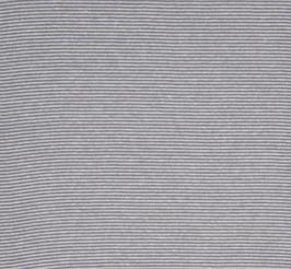 """Bündchenware - LT Grey/White 2mm """"Q210"""""""
