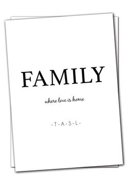 Family - Karte