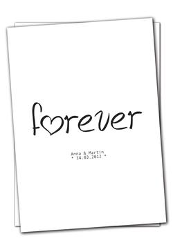 Forever - Karte