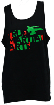 Fire & Green Tanktop