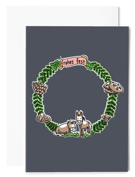 Esel&Ochse Grußkarte