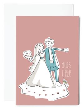 Alles Liebe Grußkarte