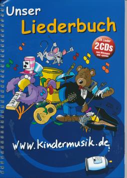 2 CDs und Liederbuch: kindermusik.de