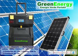 Generador Foto-voltaico Portatil