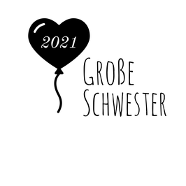 Personalisierung Große Schwester Ballon