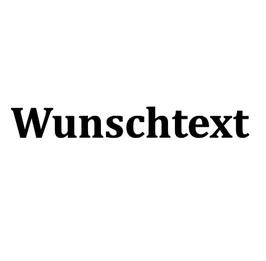 Personalisierung Wunschtext  20x20cm
