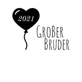 Personalisierung Großer Bruder Ballon